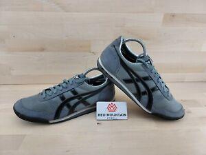 Asics Onitsuka Tiger Black Grey Silver Sneaker D5P0N - Men's Size 10