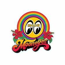 Mooneyes Aufkleber Rainbow Love Peace Surf Beach Hibiskus Aloha Hawaii