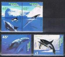 Australian Antarctic Territory postfris 1995 MNH 102-105 - Whales and Dolphins