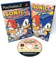 Sonic Mega Collection Plus ~ PlayStation 2 PS2 ~ Retro Platformer *Excellent*