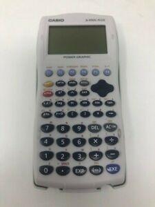 Casio fx-9750G Plus Graphing Calculator Scientific Aqua w Case Cover