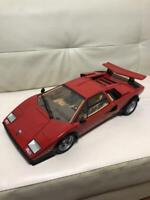 DEAGOSTINI LAMBORGHINI COUNTACH 1/8 DIECAST CAR MODEL LP500S RARE EMS shipping