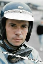 9x6 Photograph , Jim Clark Team Lotus Helmet Portrait  1965