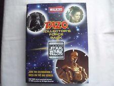 1996 British Star Wars SE  Tazos Album with  50 Pogs Complete Set
