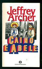 ARCHER JEFFREY CAINO E ABELE MONDADORI 1985 OSCAR 1868 PRIMA EDIZIONE