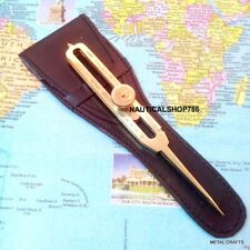 Brass Divider Proportional Drafting Tool 6 Scientific Engineer Divider & Case