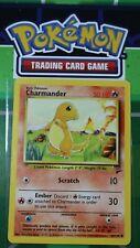 Charmander 69/130 RARE Base Set 2 Pokemon WOTC Unlimited - Near Mint