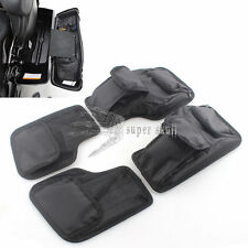 Black Saddlemen Hard Saddlebags Lid Organizer Kit For Harley Touring 96 97-2013