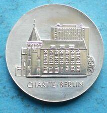 ! DDR GDR Silber 10 Mark 1986 f. unz aunc Charité Berlin RR