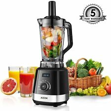 Aicok Professional 1500W High Speed Commercial Blender Smoothie Maker & Juicer