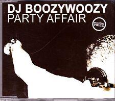DJ Boozywoozy-Party Affair cd maxi single