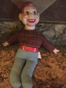 Howdy Doody 12' Goldberger Vintage Ventriloquist Doll Pull String mouth
