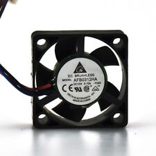 Delta AFB0312HA 3010 12V 0.15A 3-Wire Silent Notebook CPU Cooler Cooling Fan