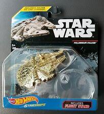 Hot Wheels Golden Starship Millennium Falcon star wars Th hunt