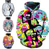 Fashion Anime Rick and Morty 3D Print Unisex Casual Hoodies Sweatshirt Sweater