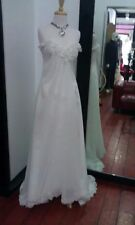 NEW Ivory Wedding Dress Bridal Gown Custom deb Size 6 8