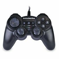 Steelseries USB Rumble PS2 PS3 Type Gaming Controller For PC And MAC Black