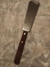 "Htf Vtg ""Case Xx"" P238 Stainless Steel/ Wood Tang Handle Kitchen Spatula Utensil"
