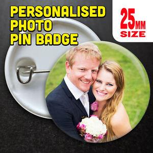 Personalised Pin Badges, Printed, Badge, Custom Badge