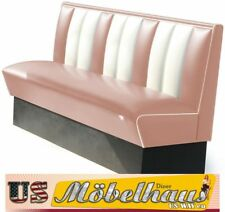HW-150-Rose American Diner Bench Seating Furniture USA Style Catering