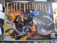 Full Throttle Lucas Arts Limited Edition game MAC CD-ROM BIG BOX RARE NEW SEALED