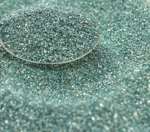 Blue, Pale Blue Glass Glitter - 311-9-295 - Real Glass, Imported  German Glitter