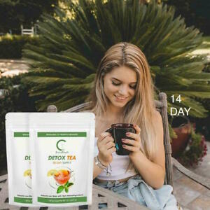 Extreme speed Cleanse Detox Tea Fat Burner Slimming  Vegetable and fruit 14 DAY