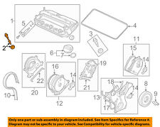 HONDA OEM Valve Timing Covers-Valve Cover Bolt 90010P8AA00
