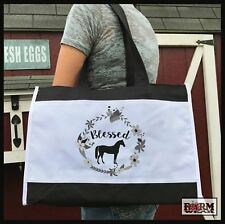 Blessed Horse Farmers Market Tote Bag