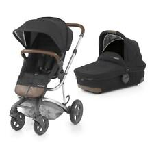 BabyStyle 2-in-1 Hybrid Edge Pushchair with Carrycot Pram (Phantom Black)