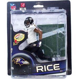 Ray Rice Baltimore Ravens McFarlane Variation Action Figure NIB NFL Series 32