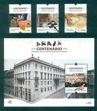PORTUGAL 2019 CENTENARY DIRECTORATE LIVESTOCK SERVICES-3 STPS+1 BLK+BROCHURE MNH