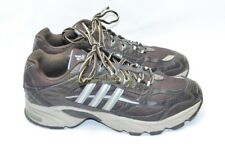 Womens ADIDAS ADIPRENE Shoes Size 9.5 US Brown Lace Up Athletic