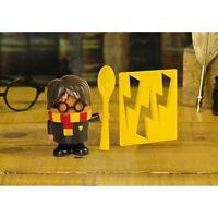 Harry Potter Egg Cup Spoon & Toast Cutter Hogwarts Wizard Breakfast Gift Set