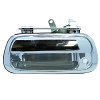 Outside Tailgate Tail Gate Door Handle Chrome w/ Keyhole for 00-06 Toyota Tundra