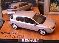 RENAULT VELSATIS 2005 V6 INITIALE GRIS PLATINE NOREV 7711237307 1/43 PHASE 2