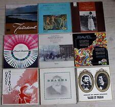 26 VINYLES LP MUSIQUE CLASSIQUE AUX CHOIX
