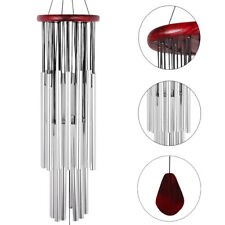"31.5"" Wind Chimes Large 27 Tubes Tone Resonant Bell Outdoor Church Garden Decor"