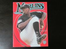 2003 Florida Marlins Program Dontrelle Willis cover