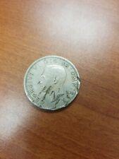 1948 Uk Great Britain British Half 1/2 Crown George Vi Arms Coin Vf+