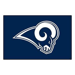 "Fanmats NFL Los Angeles Rams Rookie Mat Area Rug Bath Mat 20""x 30"" Del. 2-4 Days"