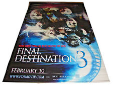 2006 FINAL DESTINATION 3 Original Movie Vinyl Theater Lobby Banner 58x90 (24)
