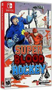Super Blood Hockey Nintendo Switch Usa by Premium Edition