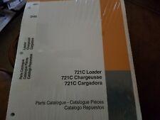 Case 721C Loader Parts Catalog Bur 7-4561 Manual
