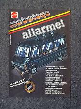 F274-Advertising Pubblicità- 1975 - 242 CARABINIERI MATTEL