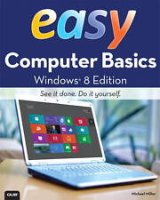 Easy Computer Basics, Windows 8 Edition, Miller, Michael - Paperback Book - NEW