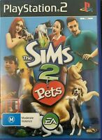 PS2 The Sims 2 Pets Inc Manual