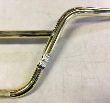 "BMX Handlebar Kink Lynx Bar 8.25"" rise (Gold) Race BMX, Freestyle or Street"