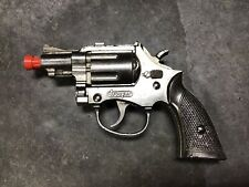 "Vintage 1950's Hubley ""Trooper"" Snub-Nosed Revolver Cap Gun/Pistol Works!"