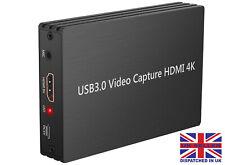 1080p HD 4k 60hz USB 3.0 HDMI Capture Card Game Converter Mikrofoneingang Twitch für ps4